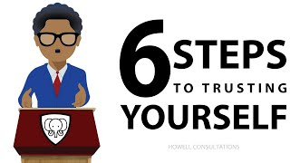 How To Trust Yourself (CONFIDENCE TO BELIEVE IN YOURSELF!)