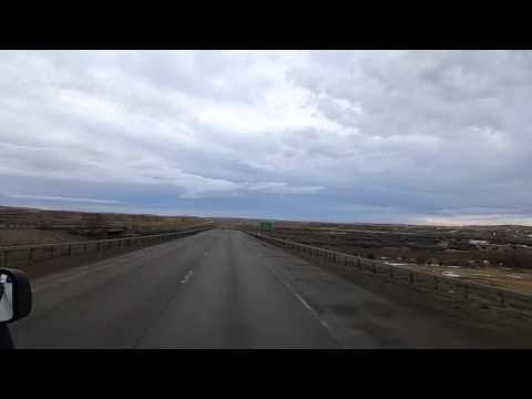 BigRigTravels LIVE VIDEOS - Little America to Rawlins, Wyoming - Thu Feb 18 07:30:19 MST 2016