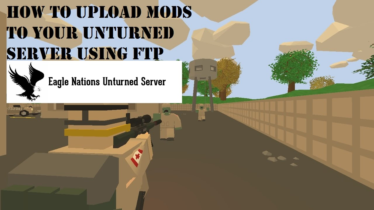 how to add mods to unturned server