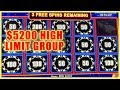 🎰 $5200 HIGH LIMIT 💰Group Pull👌 @Cosmopolitan Las Vegas ✦ Slot Machine Pokies w Brian Christopher