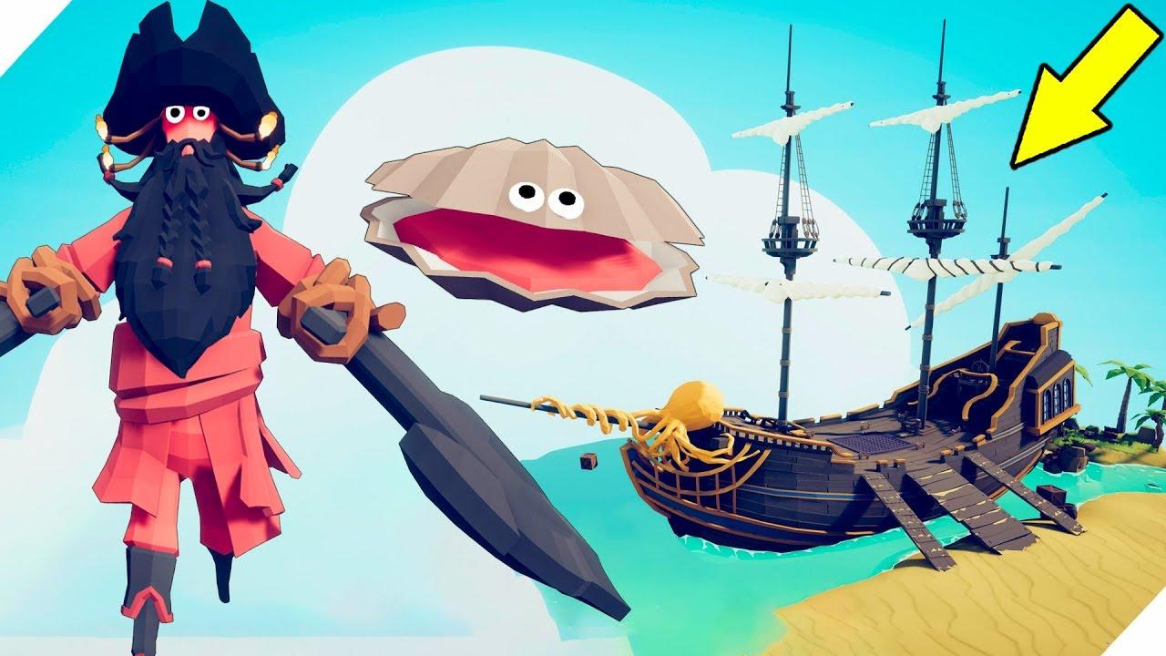центре картинки пиратов из игры табс впечатлений, удивлений