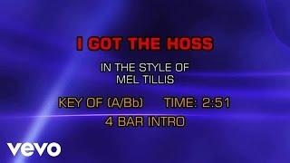 Mel Tillis - I Got The Hoss (Karaoke)