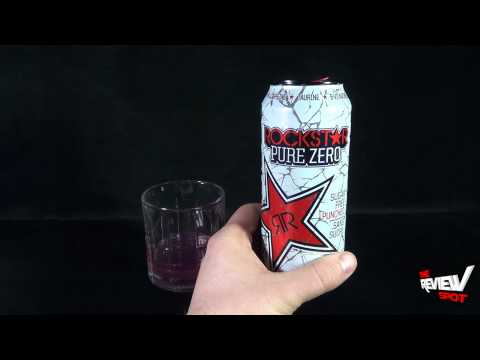 Random Spot - Rockstar Pure Zero Punched Energy Drink