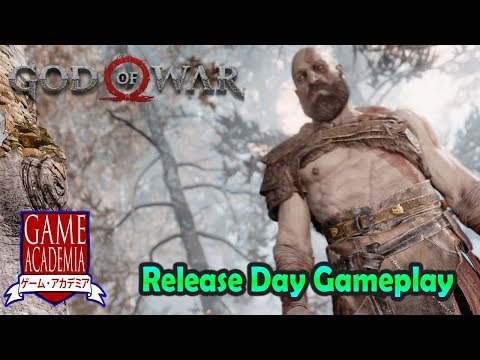 PS4 God of War - The First Quest Gameplay
