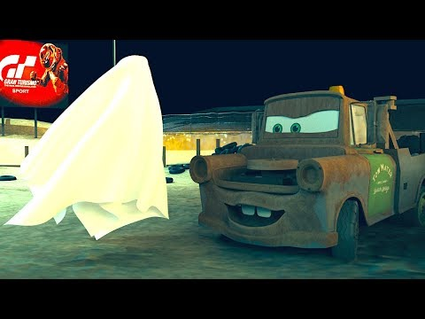 Ghost of Thunder Hollow CARS HALLOWEEN SPECIAL part 2