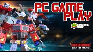 Transformers Earth Wars: PC Game Play (Bluestack App)