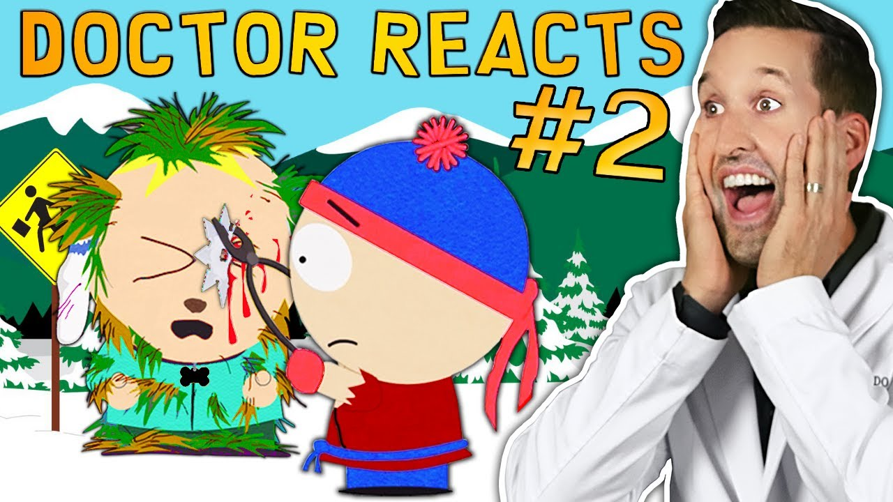 ER Doctor REACTS to Hilarious South Park Medical Scenes #2