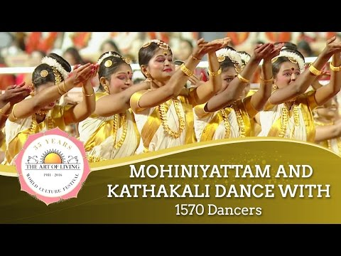 Mohiniyattam & Kathakali from Kerala, India | World Culture Festival 2016