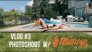 MIMOSA FLOATIES PHOTOSHOOT W/ GF (Vlog #3)