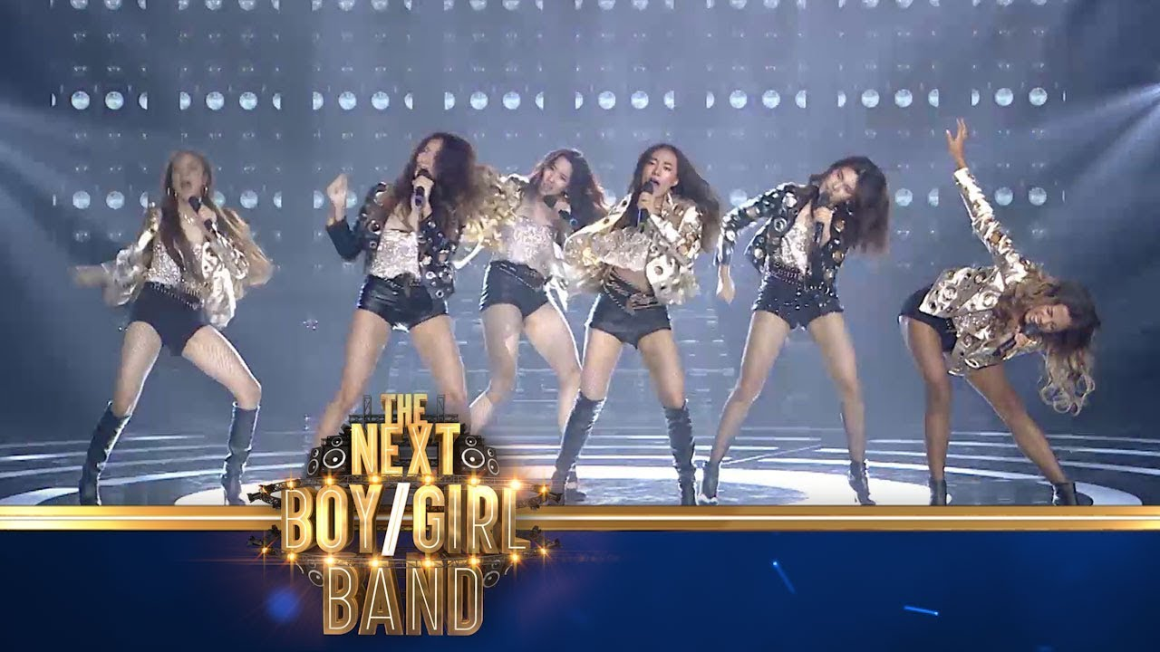 TeamGirl   Opening Show - The Next Boy/Girl Band Thailand