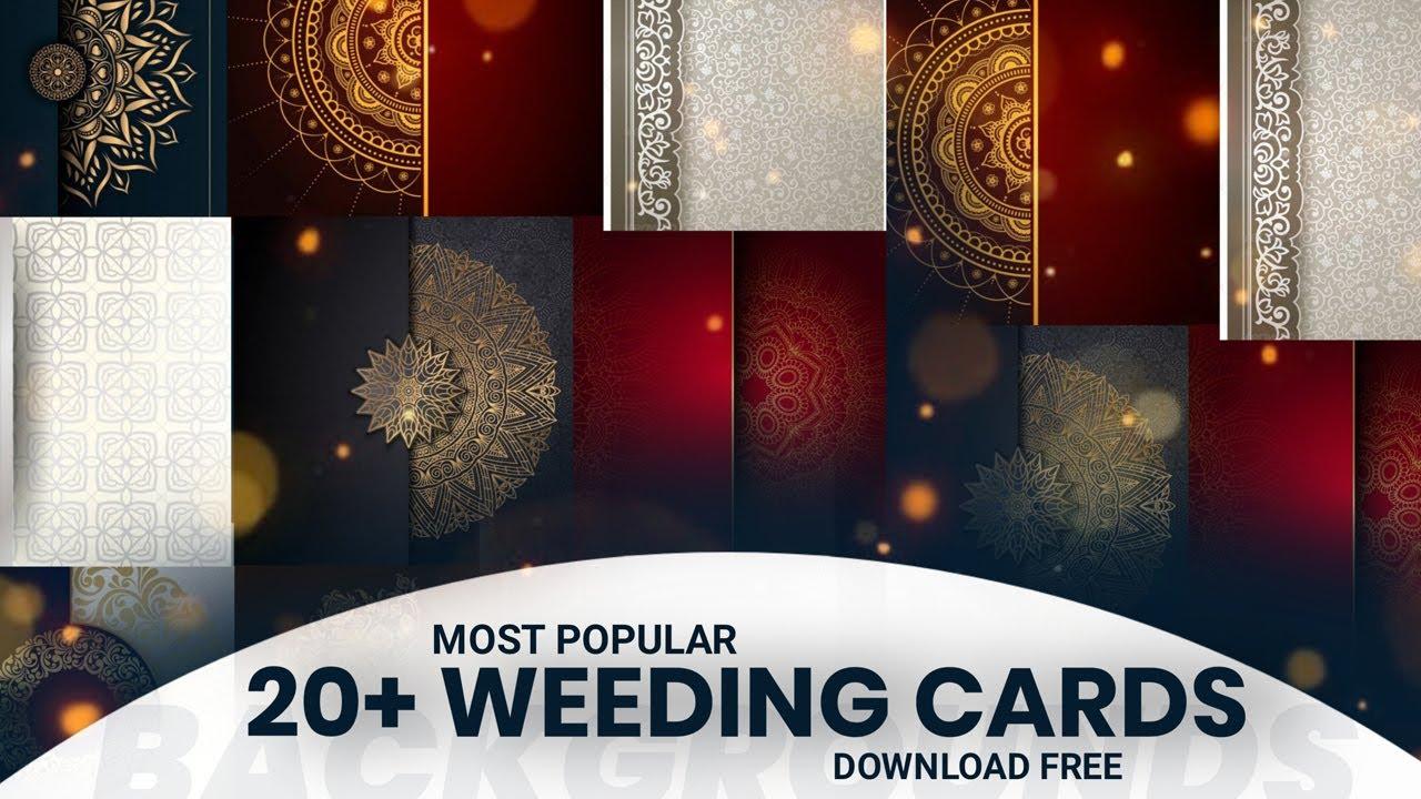 wedding invitation card background design hd free download