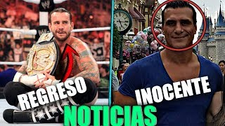 WWE Noticias: CM Punk Y Rey Misterio Regresan ft. Rigel WWE