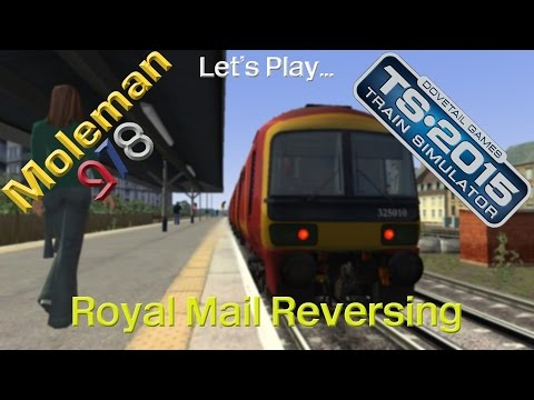 Let's Play: TS2015, Royal Mail Reversing | Class 325