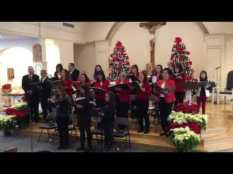 3rd Annual Carol Sing, OLMC Nutley NJ - I Believe (Soloist, Samantha Arias)