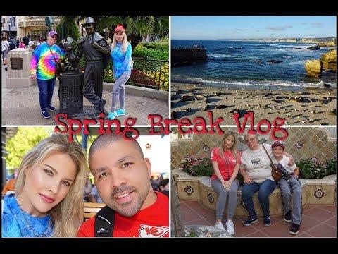 Spring Break 2017 | CALIFORNIA ADVENTURE | Part 2 | VLOG | Brittany Elizabeth