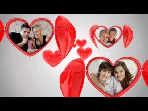 dating valentine postcards