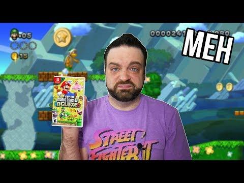 I REGRET Buying New Super Mario Bros U Deluxe | RGT 85