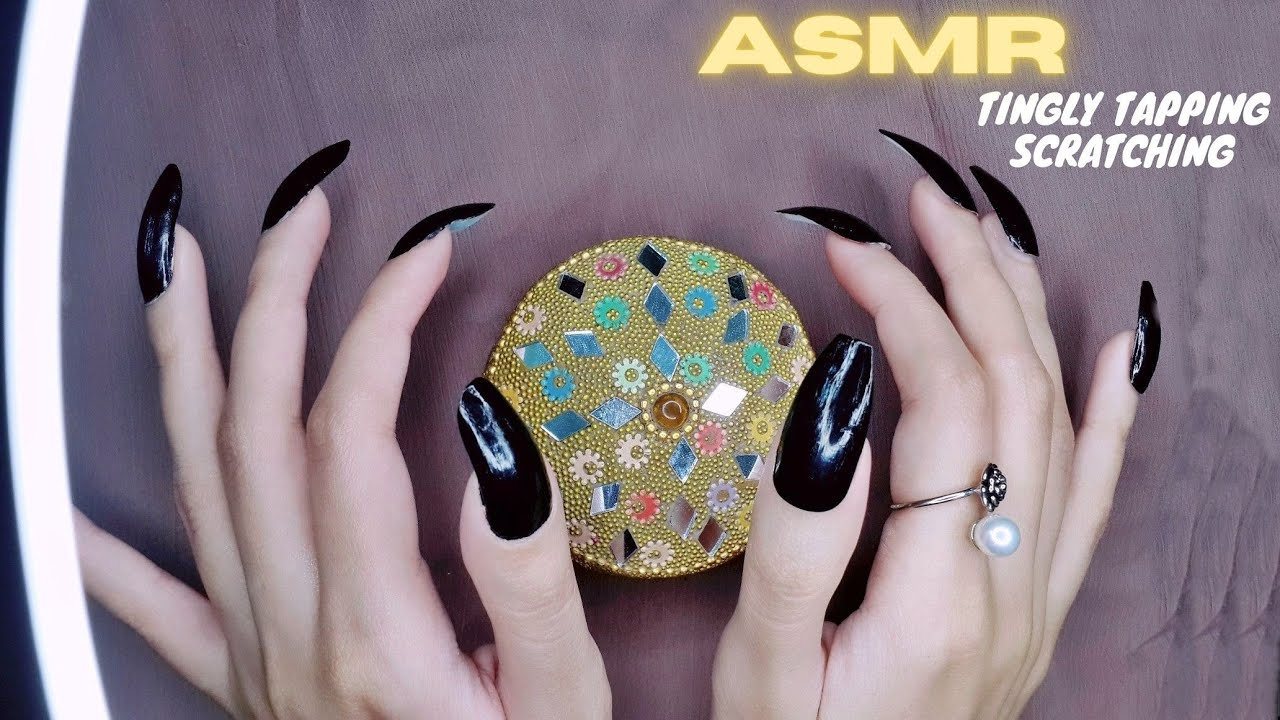 ASMR | Tingly Tapping and Scratching on Tiny Jewelry Boxes | Lofi | Fast & Aggressive asmr