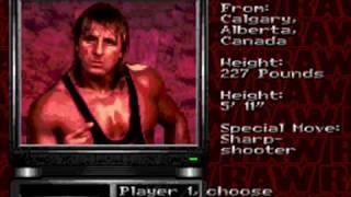 WWF RAW Genesis roster 1