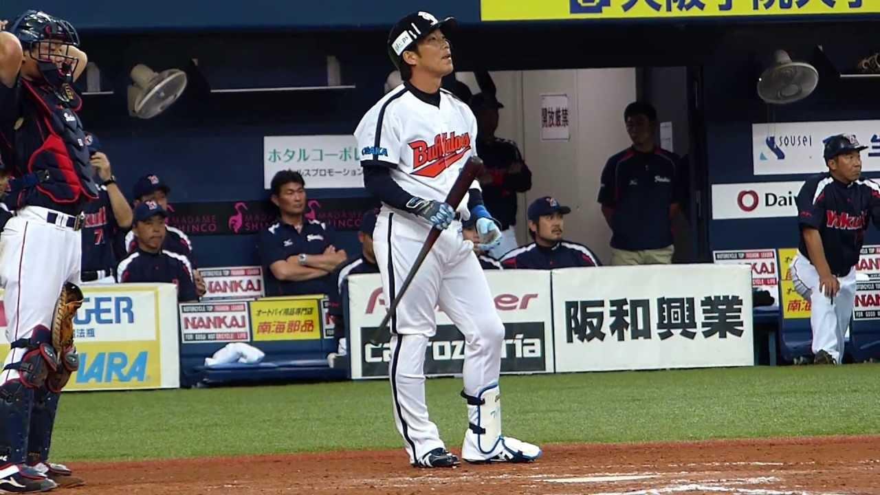 130616 オリックス vs ヤクルト 6回裏 5点差からの大逆転劇 大阪近鉄 ...