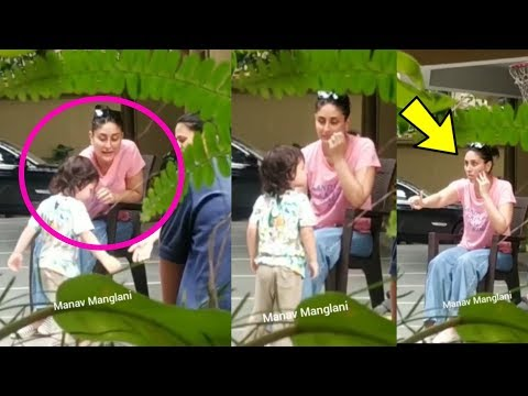Omg !! KAREENA KAPOOR KHAN  looks so Frustated with son Taimur Ali Khan naughtiness Mp3
