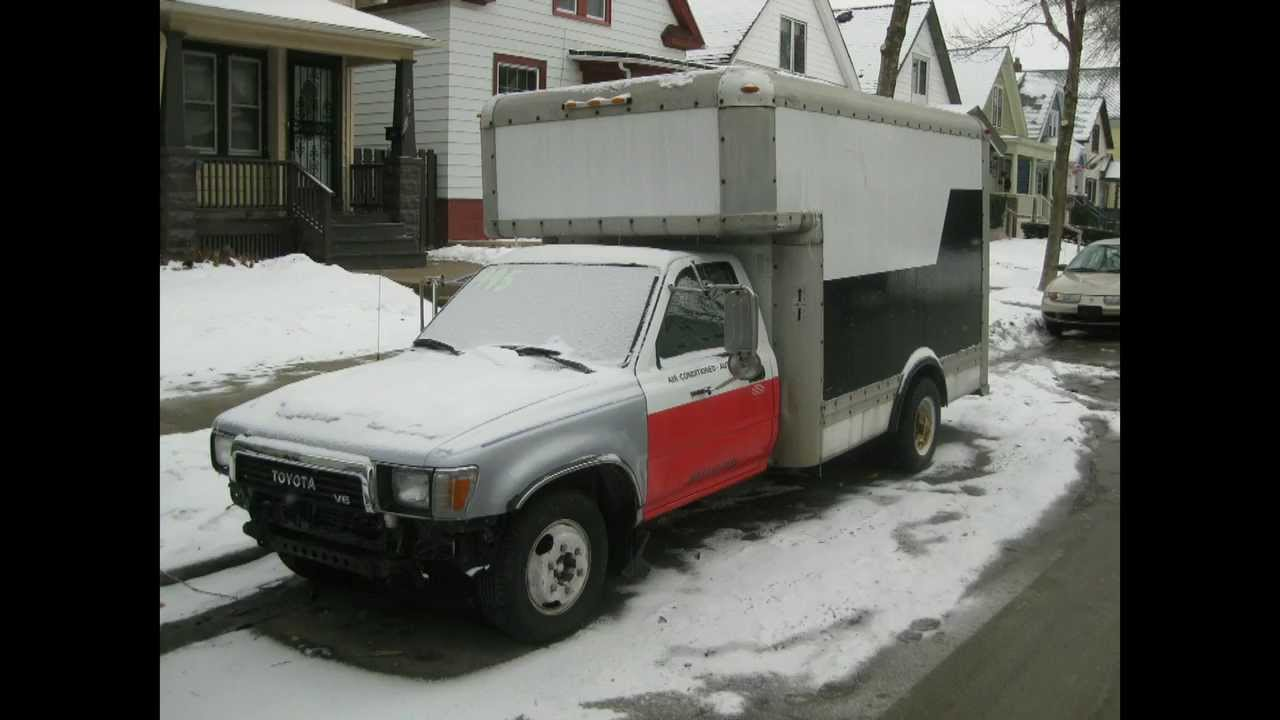 89 Toyota 1 Ton U Haul Used Truck Sales Youtube