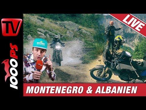 4000 km! Yamaha Tenere 700 in Montenegro und Albanien - Test und Erfahrungen mit Bike on Tour