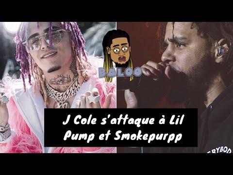 J Cole s'attaque à Lil Pump, Smokepurpp et la nouvelle generation !