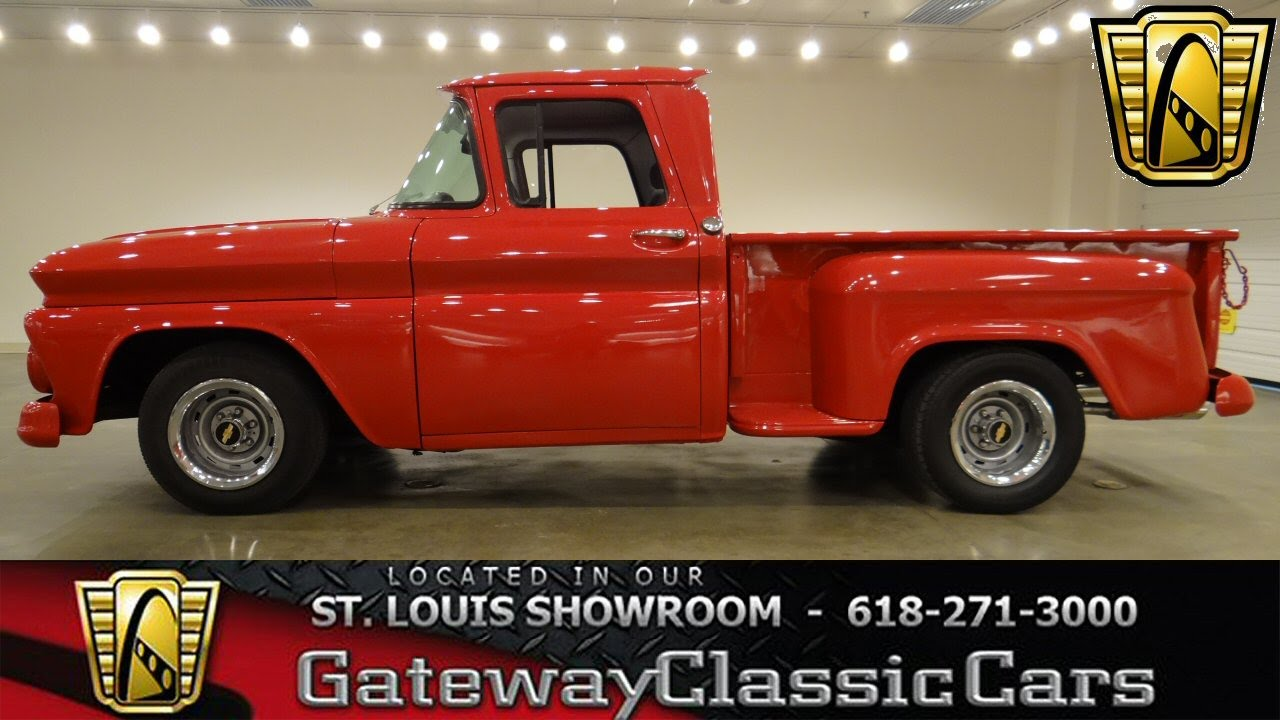 1963 chevrolet c10 gateway classic cars st louis 6283 youtube