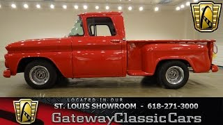 1963 Chevrolet C10 - Gateway Classic Cars St. Louis - #6283