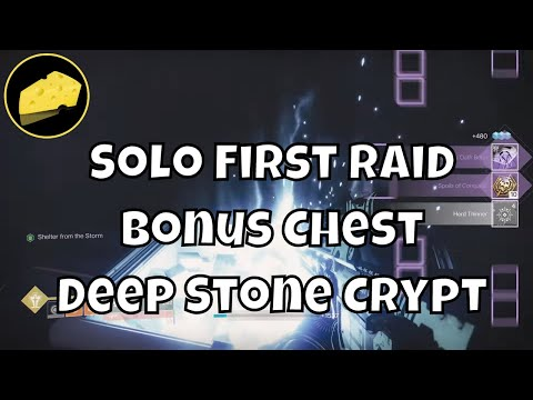 Easy Solo First Bonus Chest - Deep Stone Crypt Raid Loot - All Classes