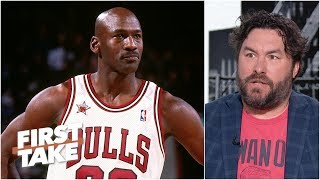 Download How does Michael Jordan feel about the MJ vs. LeBron GOAT debate? | First Take Mp3 and Videos