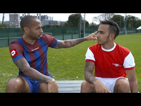 Champion Chat with Lewis Hamilton & Thierry Henry - Winners & Losers!