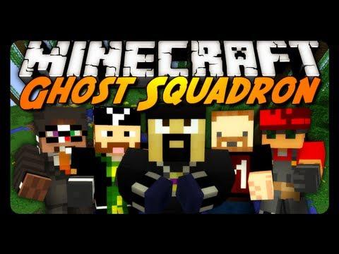 Minecraft Mini-Game: GHOST SQUADRON 2! w/ AntVenom & Friends!