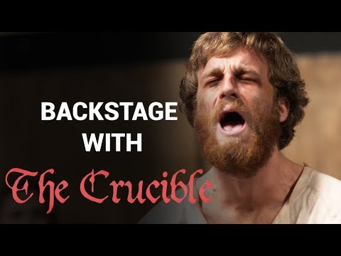 Backstage with The Crucible | Acting Program