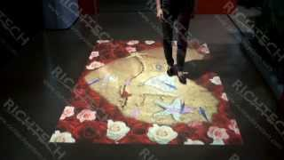 Interactive Floor Projection - Pond Example