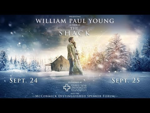 William Paul Young at Lovers Lane UMC - Sept. 24 2017