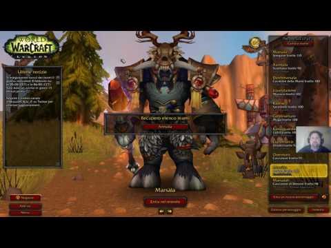 World of Warcraft Legion Gameplay Ita: Mostriamo un po' di Wow