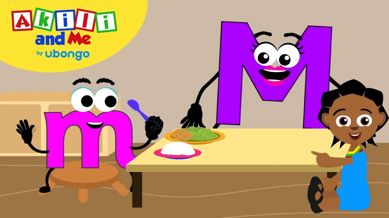 Meet Letter M!   Learn the Alphabet with Akili   Cartoons from Africa for Preschoolers