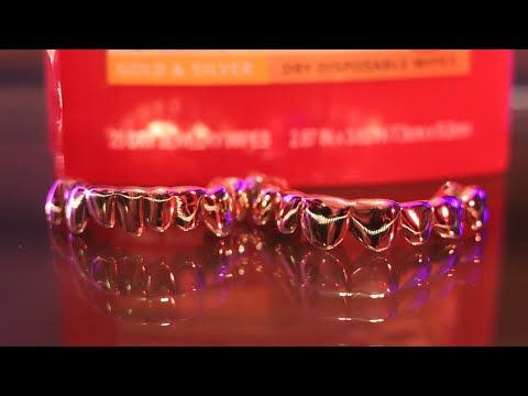 how to clean your grillz gold teeth under 2 minutes