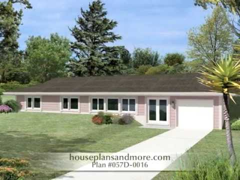 Efficient berm style homes video house plans and more for Berm home designs