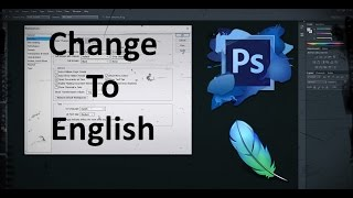 How to Change Language to English in Adobe Photoshop CS6