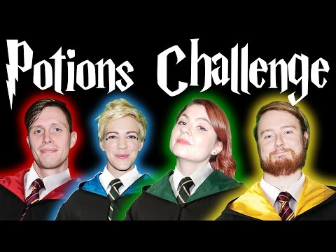 HARRY POTTER POTIONS CLASS CHALLENGE!