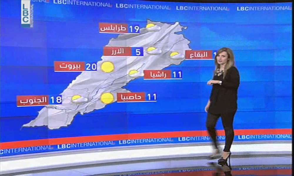 LBCI News-حال الطقس في لبنان