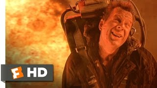 Die Hard 2 (1990) - Military Funeral Scene (2/5) | Movieclips