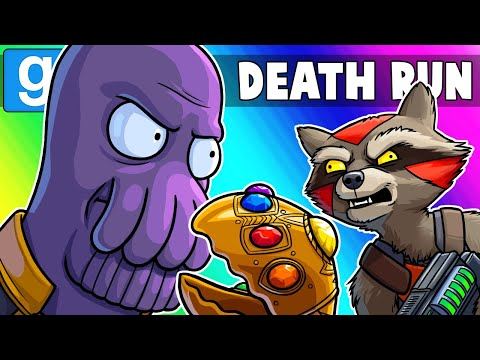 Gmod Death Run Funny Moments - Avengers Endgame TRUE Ending!