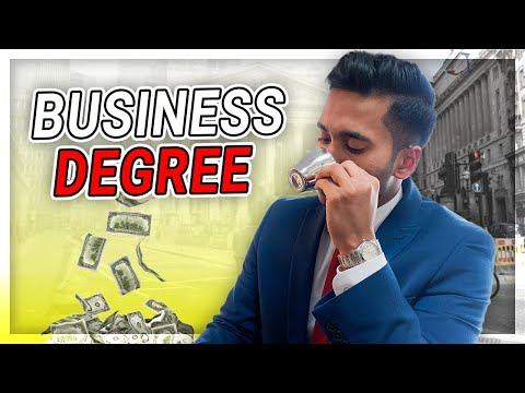 IS A BUSINESS DEGREE REALLY WORTH IT?! *spills tea*