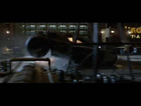 Batman Begins: Tumbler Scene HD