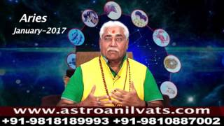 ARIES - Monthly Astro- Predictions for-January-2017 Analysis by Aacharya Anil Vats ji