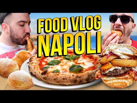 PUOK, PIZZA da SORBILLO e TANTO ALTRO! | NAPOLI FOOD VLOG | FLOG #3